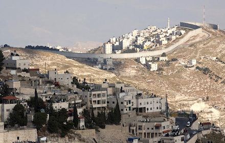 Israeli settlements occupying dominant position over Palestinians