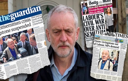 Media disinformation against Corbyn