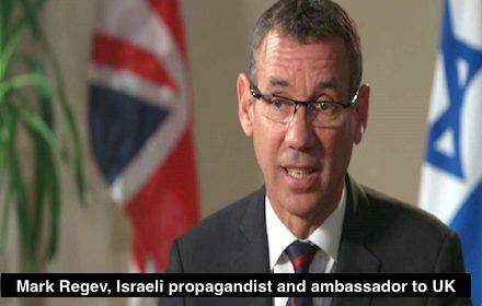 Israeli propagandist Mark Regev