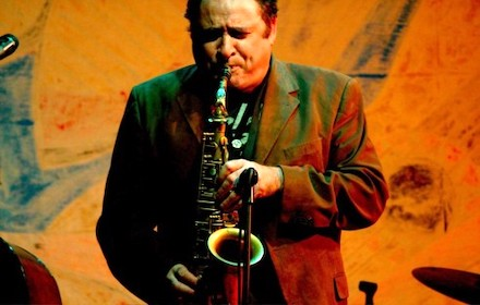Gilad Atzmon on saxophone