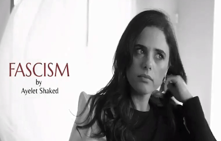 Facism by Ayelet Shaked
