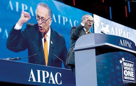 Israel pimp Senator Charles Schumer