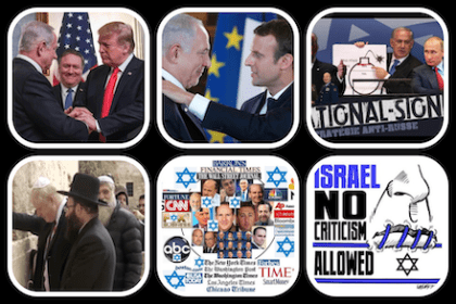 Never before. On the West's surrender to Zionism