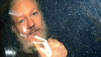 Julian Assange incarcerated