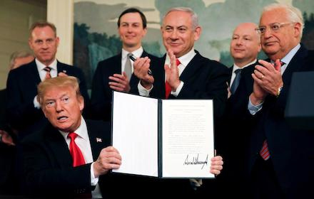 Trump's Zionist deal of the century