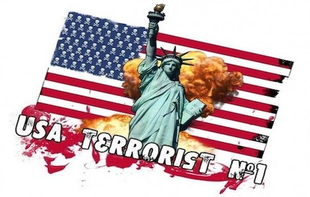 USA - world's No. 1 terror state