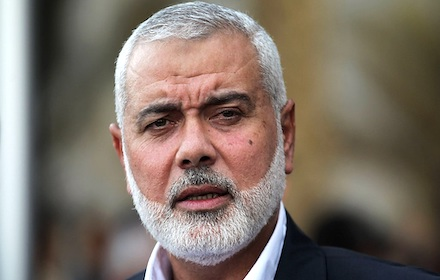 Hamas chief Ismail Haniyah