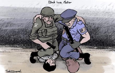 Israeli-US apartheid choke