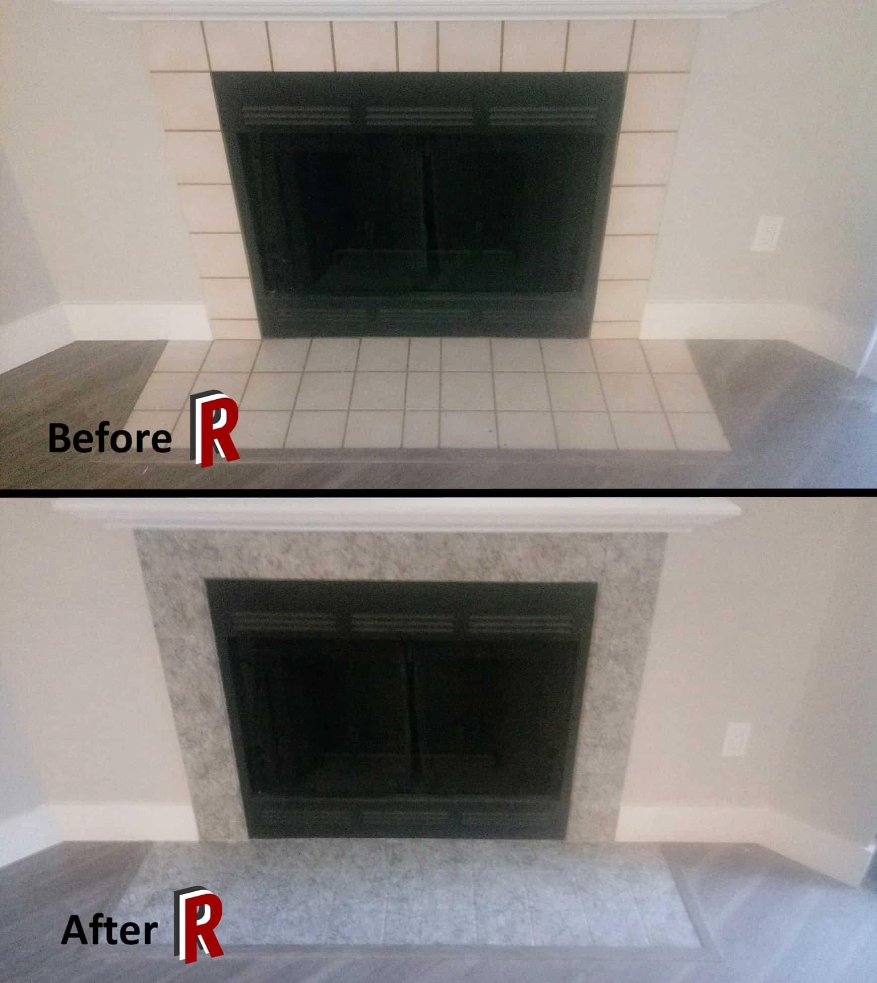 fireplace resurfacing redrock resurfacing