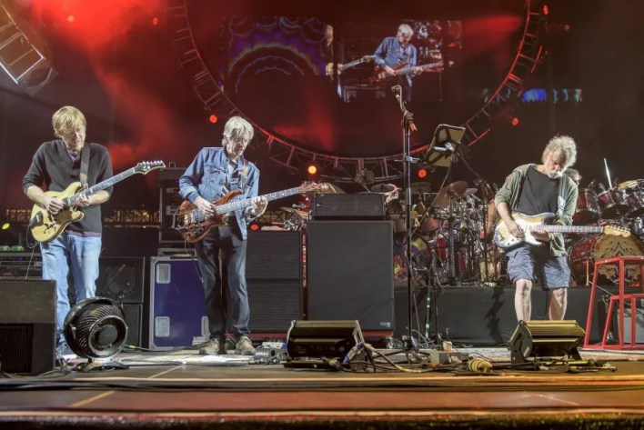 From left to right: Anastasio, Lesh, Weir (Photo courtesy of AL.com)