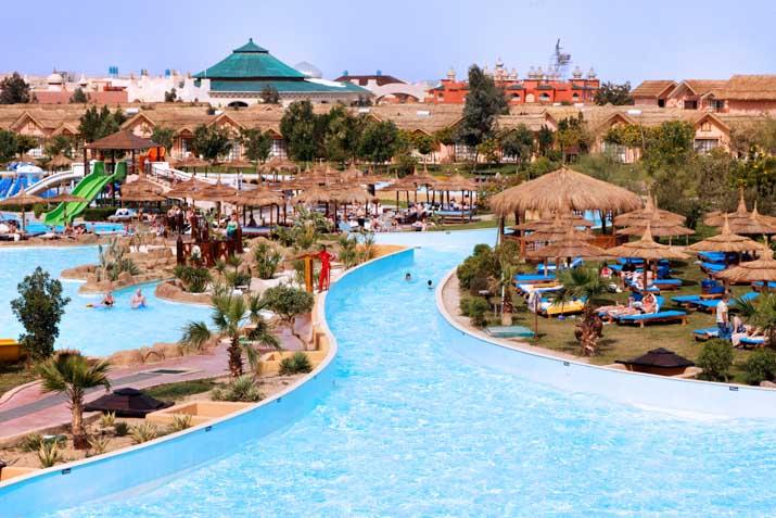 Cheap Holidays To Jungle Aqua Park Hotel Hurghada Egypt