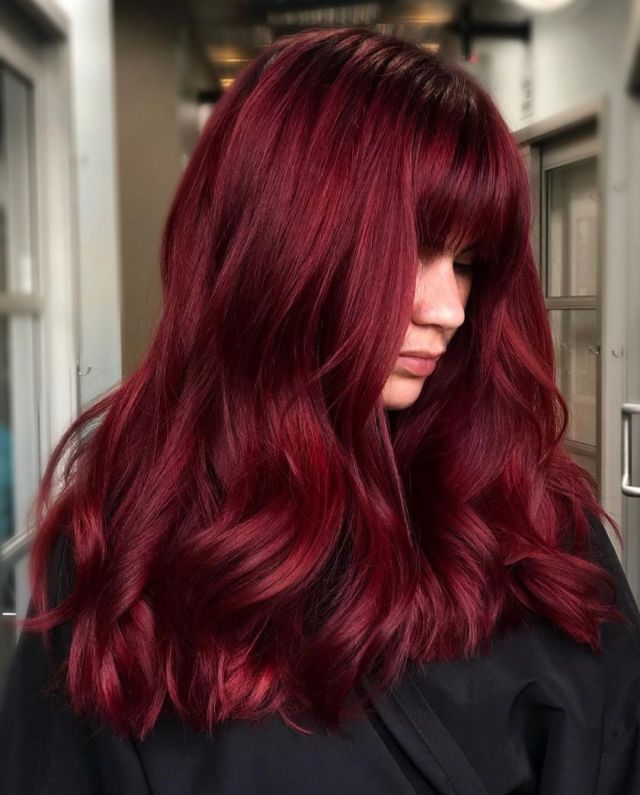 Strong mulled wine red
