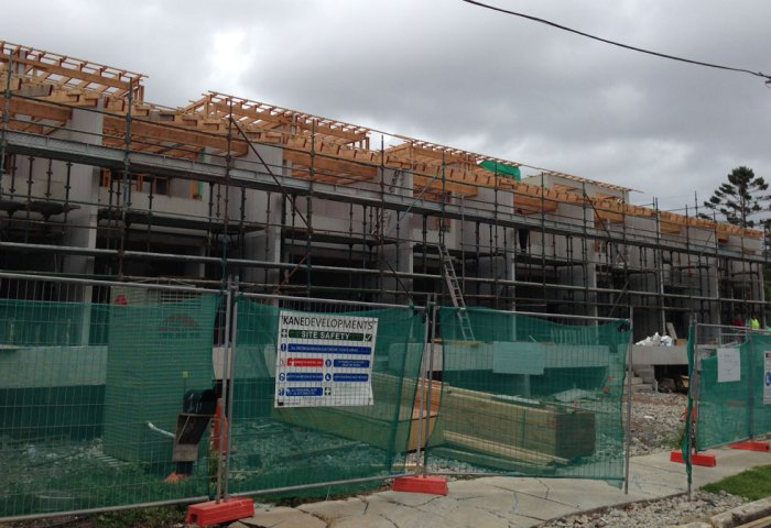 Construction of Dulwich Hill Terraces