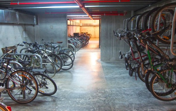 A large bicycle store for all residents.