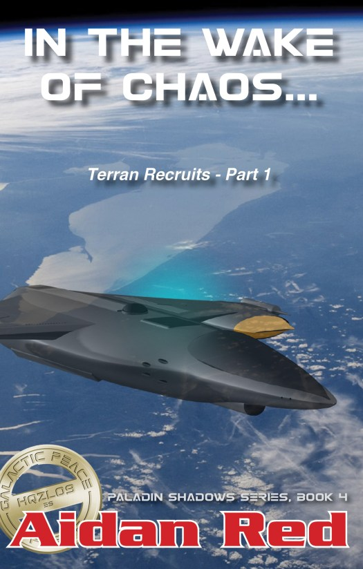 Book Cover: Terran Recruits Part 1