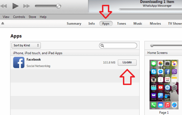 Unable to Update or download Apps in iOS8