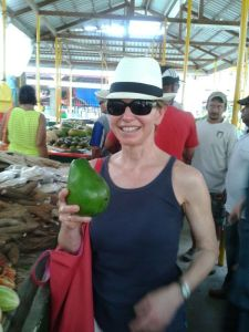 Auf dem Markt in Victoria