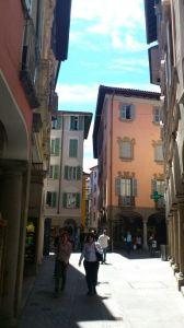 Schönes Städtchen: Lugano