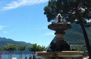 Viel Platz zum Spazieren ist in Lugano
