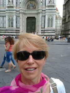 Susanne Stoll unterwegs in Florenz