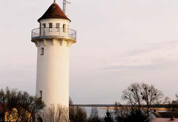 Der Lotsenturm auf Usedom.