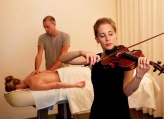 Violin Touch: Massage mit Livemusik im Dolder Grand Zürich
