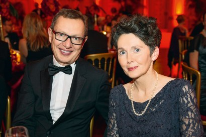 Andreas Schoo (Bauer Media Group) und Nadja Werner (Kao). Foto: Christian Rudnik