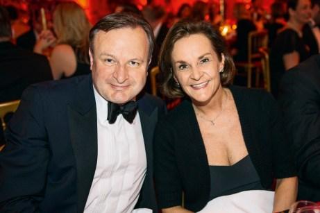 Boris Schramm (Group M) und Beate Fastrich (Estée Lauder Companies). Foto: Christian Rudnik