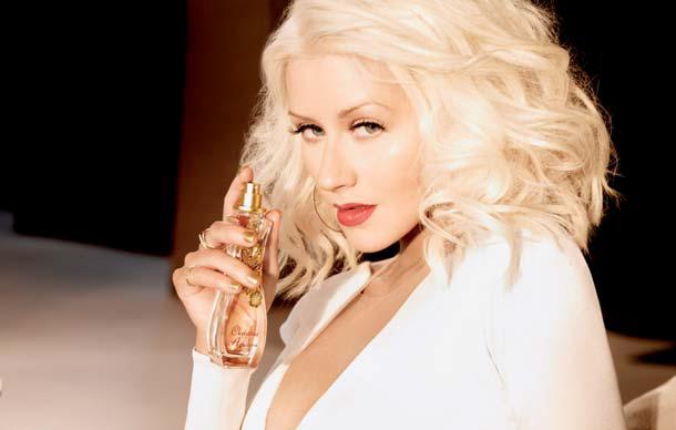 Homage an die Weiblichkeit: der neue Duft von Sängerin Christina Aguilera