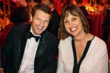 Michael Cramer (Kao) und Monika Fendt (Bauer Premium). Foto: Christian Rudnik