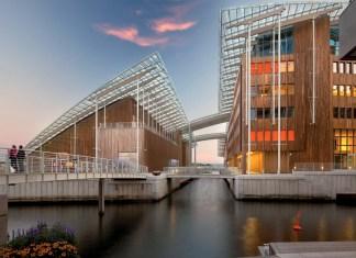 Oslo, Tjuvholmen. Foto: VisitOSLO/Nic Lehoux