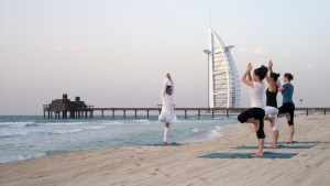 Jumeirah Dubai _yoga_on_the_beach_low