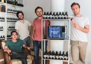 Das Gründerteam der Brooklyn Soap Company