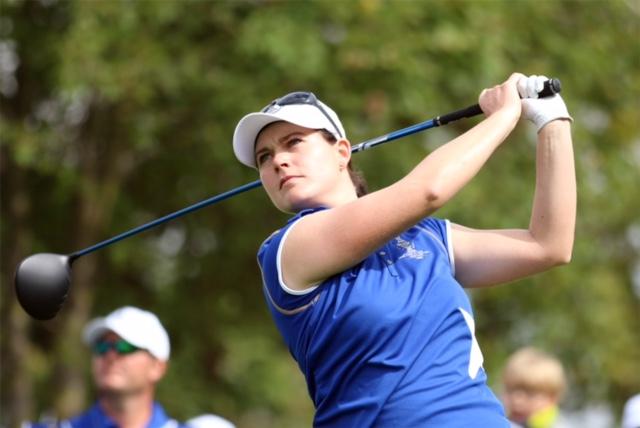 Caroline Masson hatte am die Chance auf den Sieg. Foto: DGV/stebl