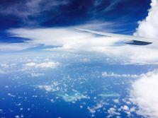 Nicht mehr weit, und wir landen auf den Malediven