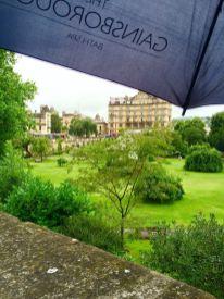 Bath ist auch im Regen schön.