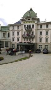 Das Hotel Kronenhof in Pontresina