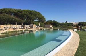 Der neue Bio-Pool mit Zen Zone Ruhebereich im Club Med Da Balaia in der Algarve.