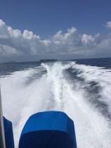 Auch für Action ist gesorgt - zum Beispiel bei einem Ausflug auf dem Speed-Boat