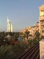 Toller Blick von der Koubba-Bar im Al Quasr - bei Sonnenuntergang