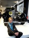 Aktuell findet im BMW Haus eine große Rolls Royce Ausstellung statt. Sehr beeindruckend!