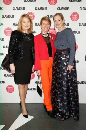 Silva Imken, Susanne Stoll und Andrea Ketterre (Photo: Franziska Krug/Getty Images for GLAMOUR)