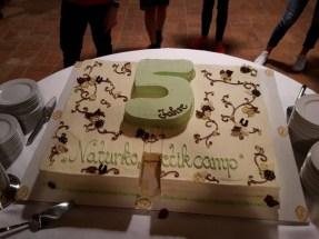 Zum kleinen Jubiläum gab es eine Torte ...