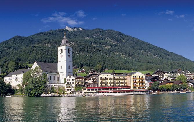 Romantik Hotel im Weissen Rössl am Wolfgangsee