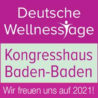 Deutsche Wellnesstage 2021 im Kongresshaus Baden-Baden