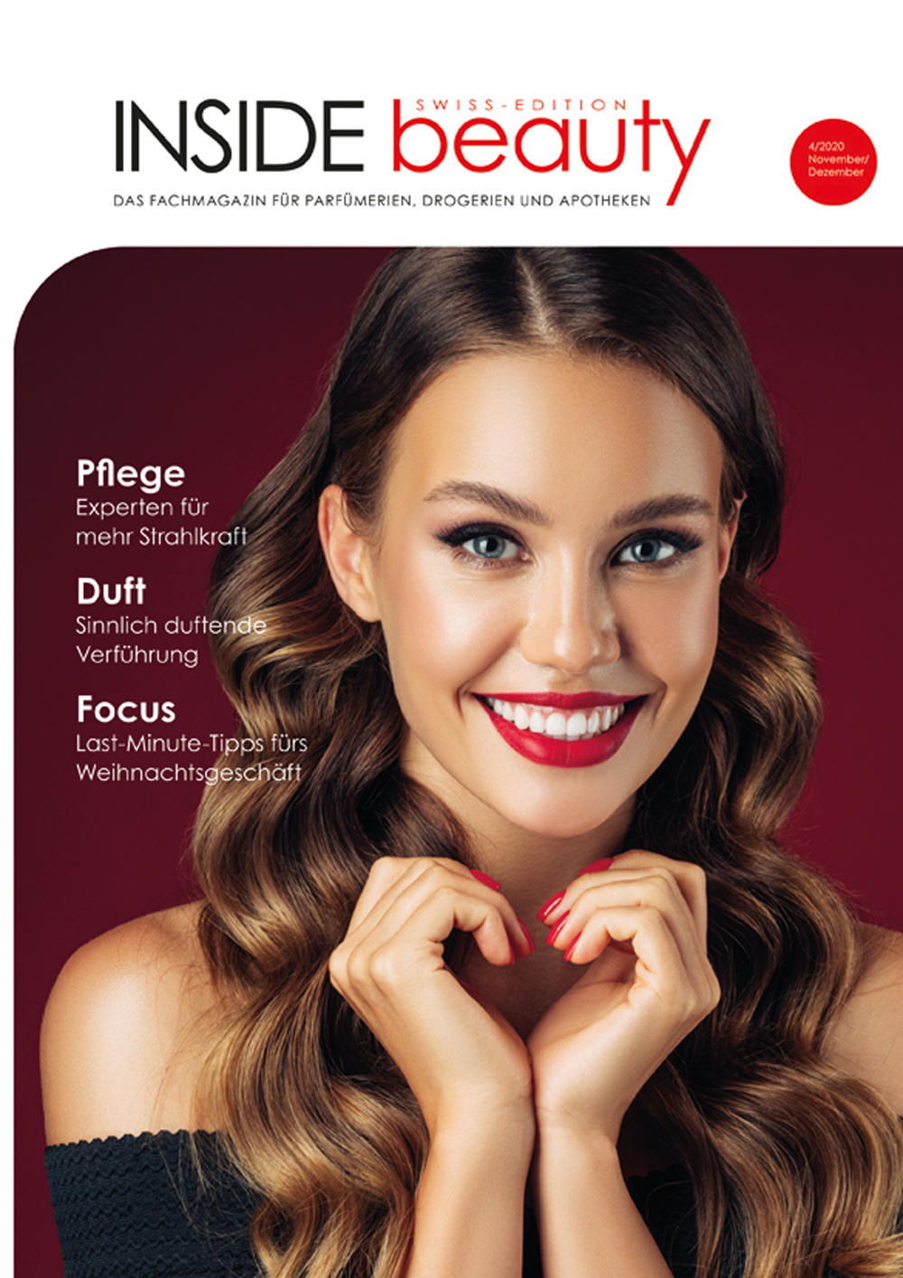 INSIDE beauty Swiss, Ausgabe 04/2020