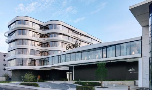 Babor Beauty Group Headquarter Außenansicht