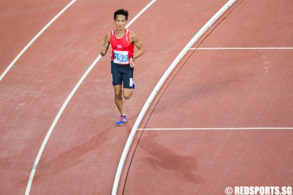 SEA Games Athletics (5,000m): Melvin Wong finishes 7th ...