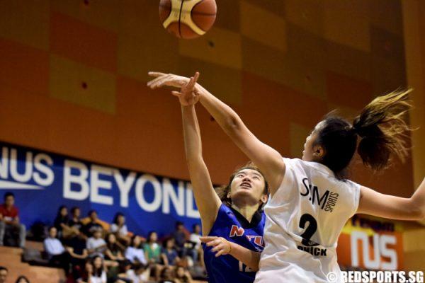 SUniG Bball (Women): NTU remain undefeated with 64–46 win ...