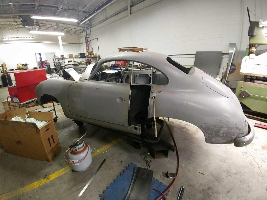 vintage 1953 porsche 356 restoration project